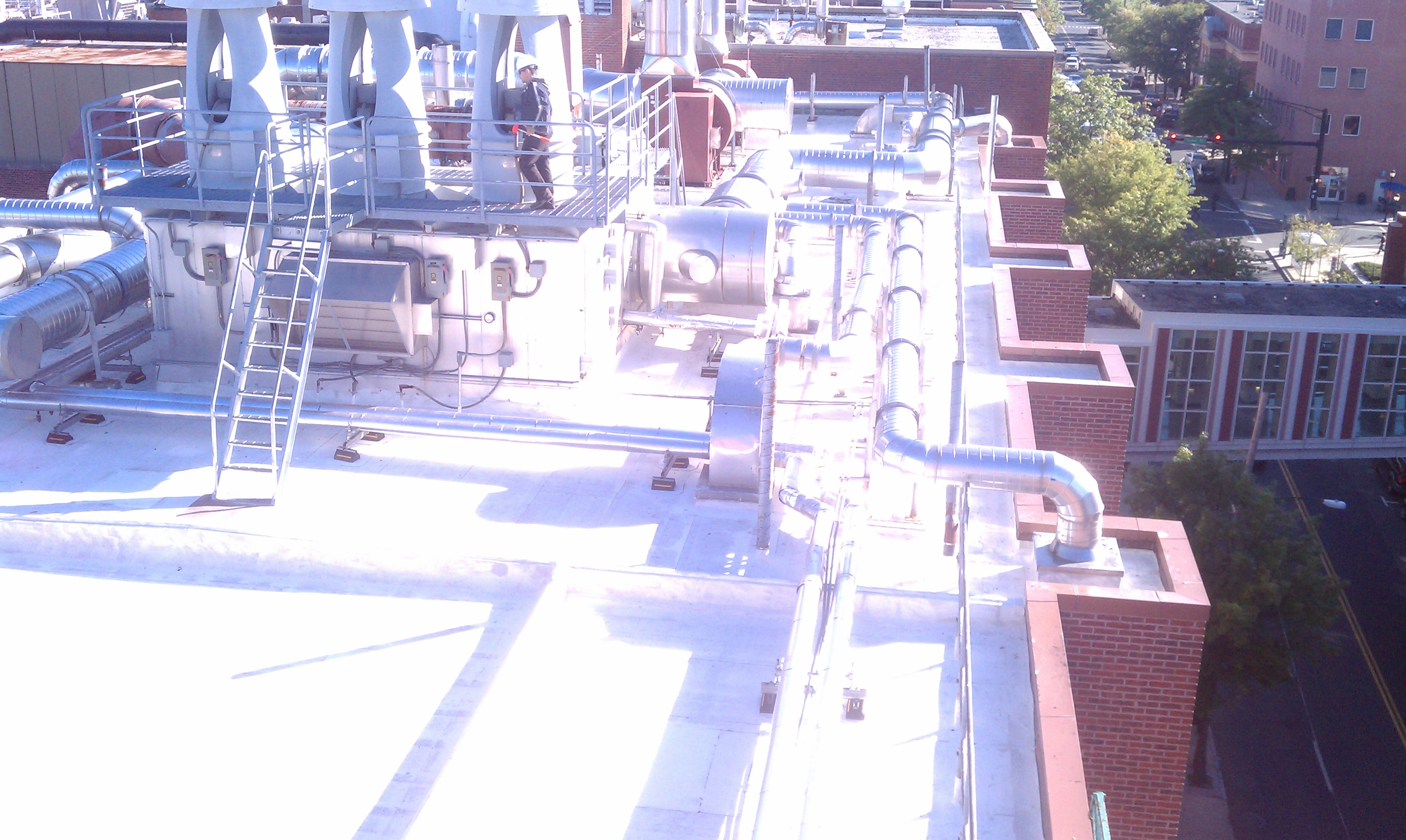Gal-Yale LSOG Siplast project with Barrett Roofing 2011